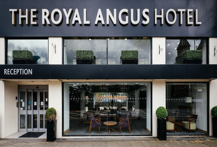 EXTERIOR_BUILDING The Royal Angus Hotel