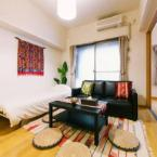 Interior A Large asian taste Apartment room for 7pp in Hakata