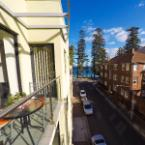 Balcony or Terrace Manly Beachside Two Bedroom Apartment