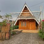 null unique A-frame traditional Indonesian villas