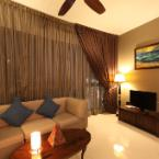 null Bali Style Cozy 1-Bedroom with Teak Wood Furniture