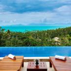outdoor pool villa Siam View Samui
