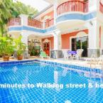 null Pool villa 5 bedrooms near walking street & beach