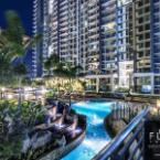 Lounge Pool Flair Towers Condominium
