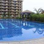 Swimming Pool Modern 2BR Family Condo @ Asteria Resort in Sucat