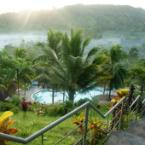 MountainTop DiscoBar Early Morning View Green Mountain Resort Capiz