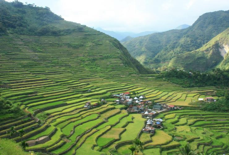 View of Batad Rice Terraces Batad Top View Point Homestay and Restaurant
