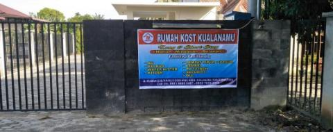 Entrance Studio Rumah Kost Kualanamu - Room 22
