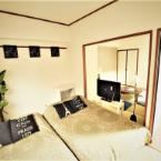 null ABO 3 bedroom apartment with 11PPL #62 Near Namba