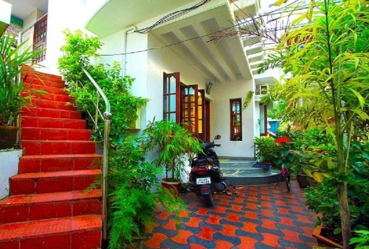Front view Christville Homestay