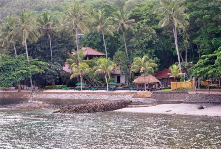 General view Alang Alang Boutique Beach Resort