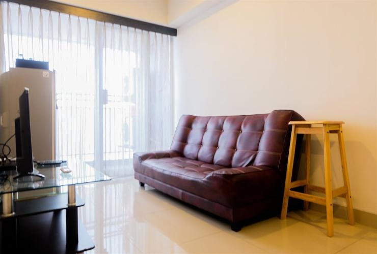 Featured Image 1BR Apartment with Sofa Bed at The H Residence