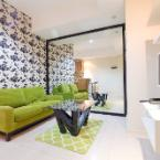 Featured Image Pool View Cosmo Terrace Apartment at Thamrin City