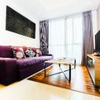 Featured Image 1BR Apartment with Big Sofa Bed at Casa Grande Residence