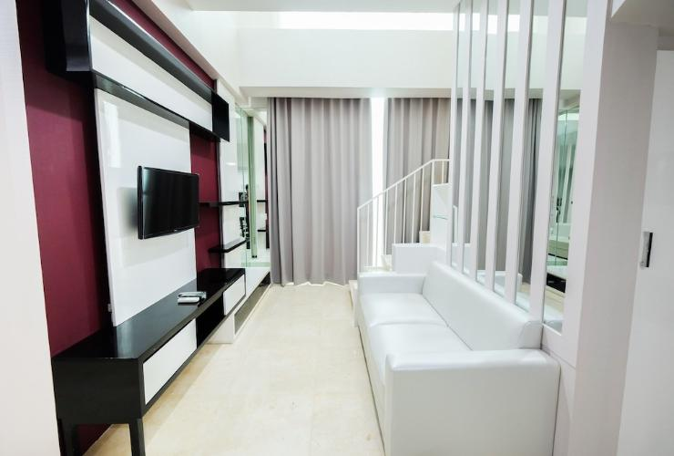 Featured Image Luxurious 2BR Loft Apartment at Satu8 Residence