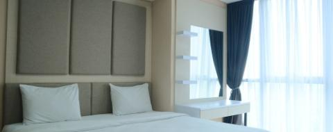 Kamar Luxurious and Comfortable 1BR Ciputra World 2 Apartment