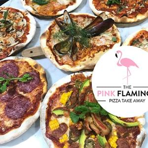 The Pink Flamingo Pizza