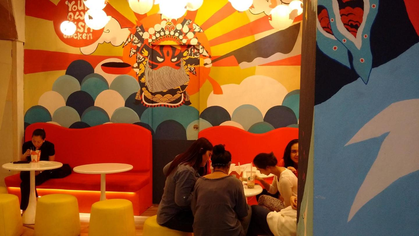 Suasana di Pop Chop Chicken - Grand Indonesia