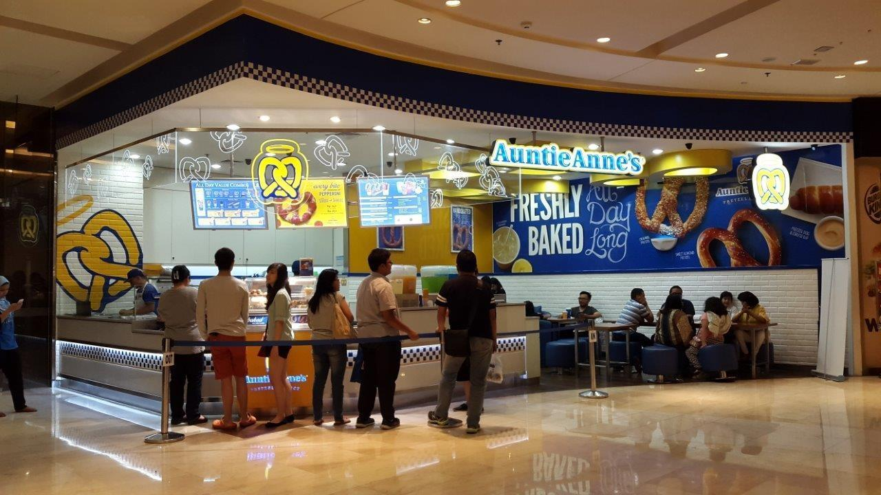 Auntie Anne's Pretzel - Grand Indonesia