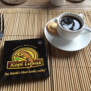 Cafe Luwak at Luwak Ubud Villas