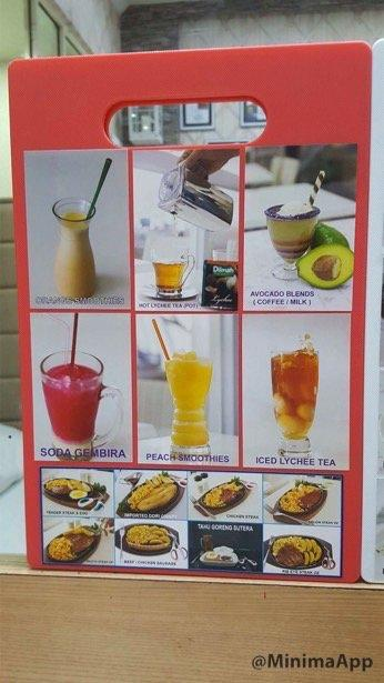 Menu Steak Gunting - Pantai Indah Kapuk