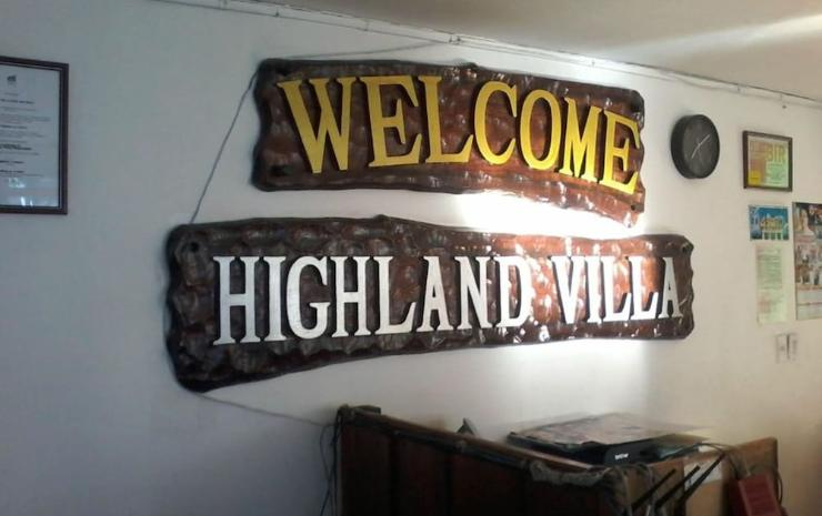 HIGHLAND VILLA HOTEL AND RESTO