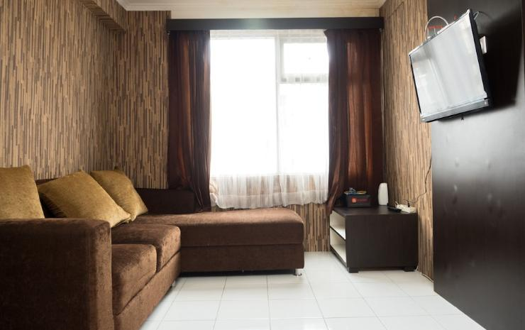 Homey 3BR The Jarrdin Apartment near CiWalk Mall Bandung -